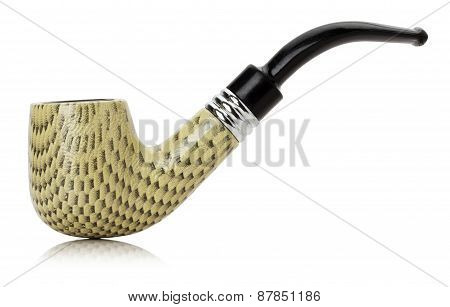 Smoking Pipes Isolated On The White Background