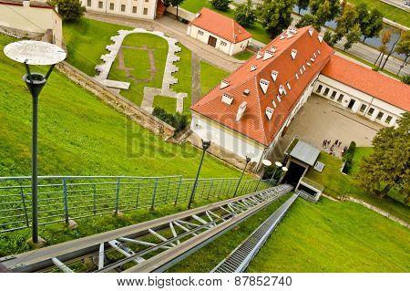 Funicular In Vilnius