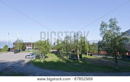 BJORKLIDEN, SWEDEN ON JUNE 15