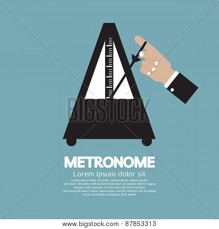 Metronome For Music Practicing.