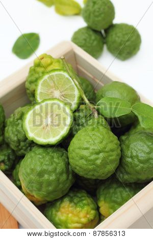 Many of kaffir lime.