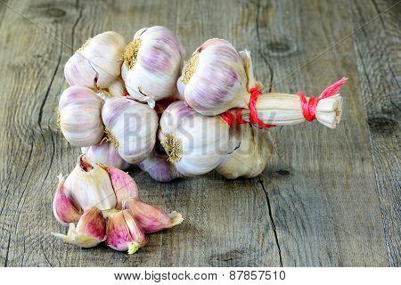 Braided Garlic