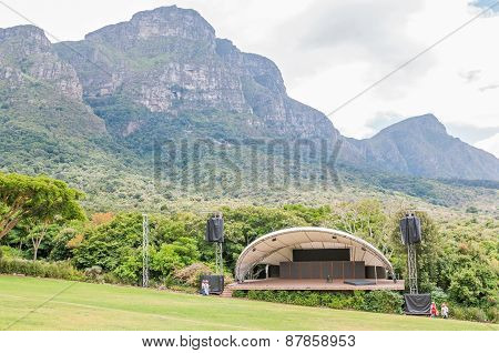 Concert Venue In The  Kirstenbosch National Botanical Gardens