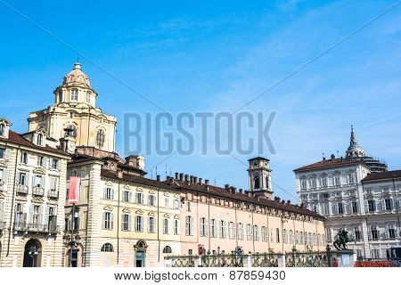 View from Piazza Castello in Turin