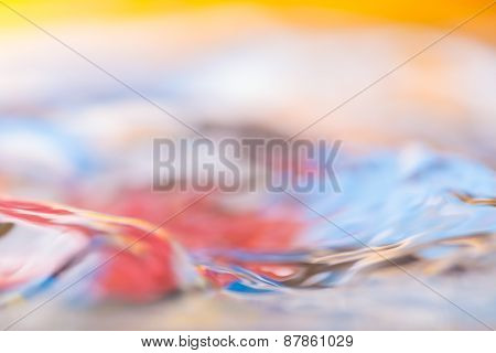Colorful Moving Liquid Abstract