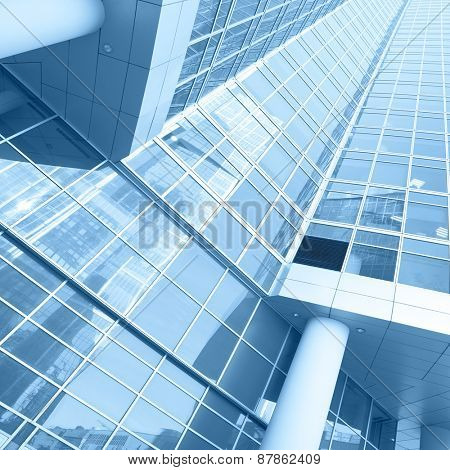 Office buildings - modern architectural and business concept