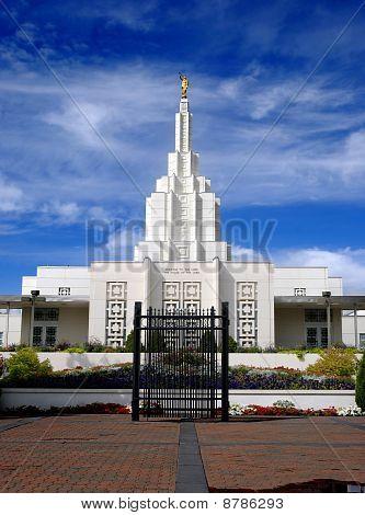 Mormone-Tempel Idaho falls