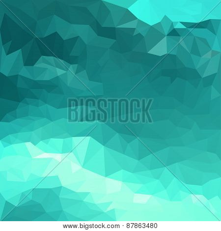Abstract Bright Polygonal Triangular Geometric Background For Use In Design