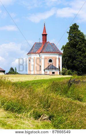 church of Saint Ann, Pusta Kamenice, Czech Republic