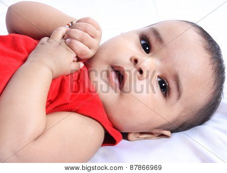 Smiling Indian Cute Baby