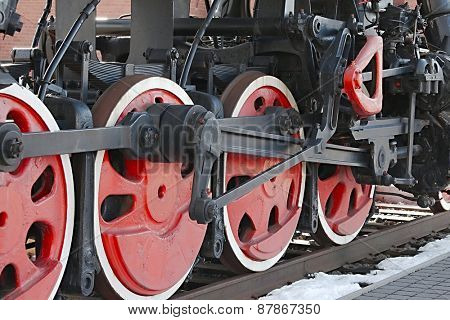 Locomotive Detail