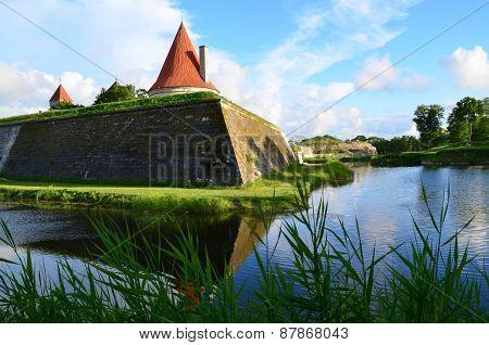Kuressaare castle, northern bastion.