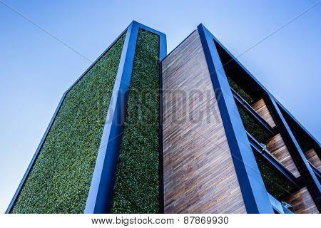 Closeup image of a stylish design house