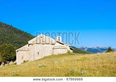 Chapel Notre-Dame near Vergons, Provence, France