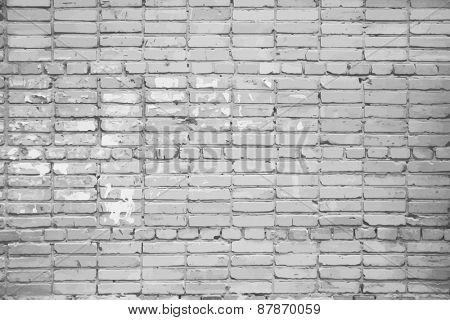dirty brick wall, grungy grey texture, vector