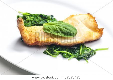 trout in beer batter