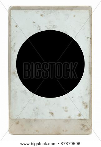 vintage cabinet photograph, vector