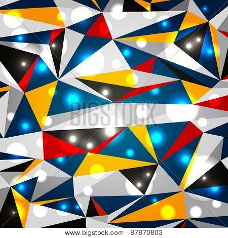 Contrasting Geometric Background
