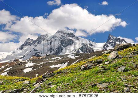 Breithorn and Klein Matterhorn