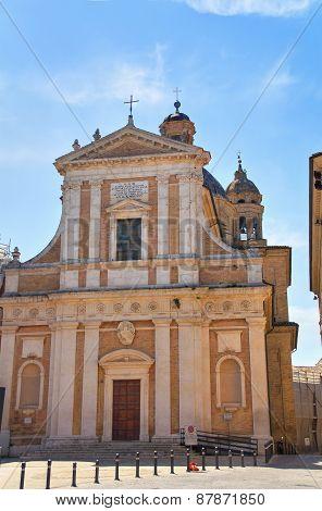 Church of St. Giovanni. Macerata. Marche. Italy.