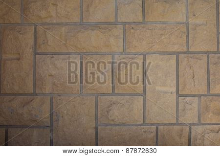 Harmonic Floor Tiles Background In Geometric Structure