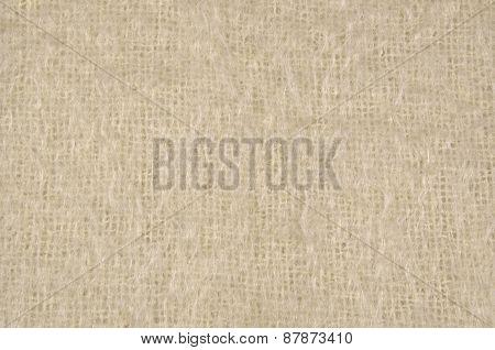 Cream Wool Background