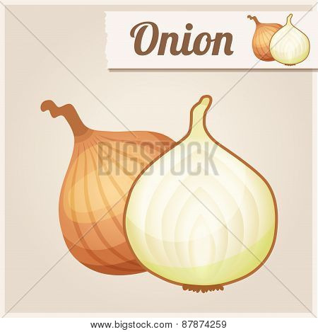 Detailed Icon. Onion.