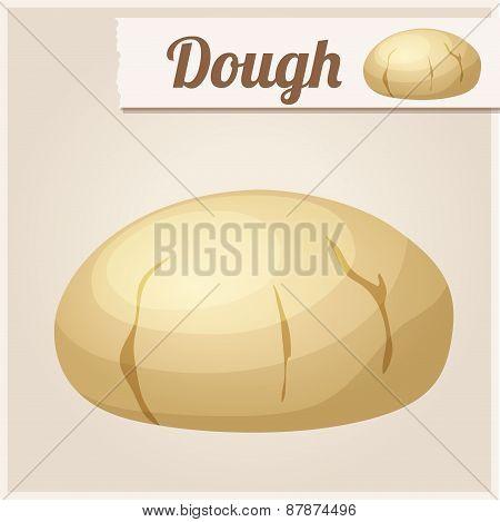 Dough. Detailed Vector Icon