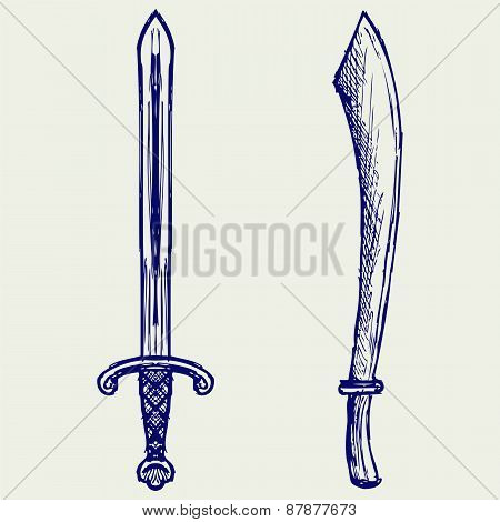 Ornamental dagger