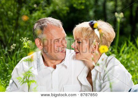 Mature couple
