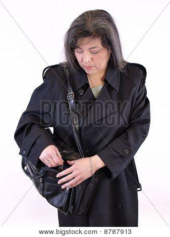 Grabbing Her Keys