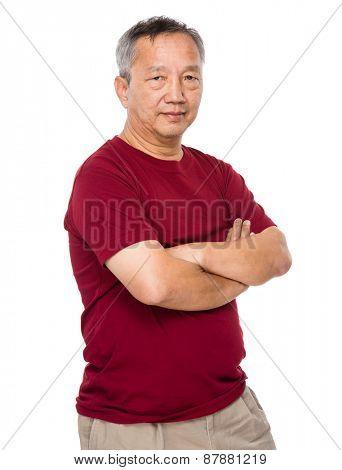 Senior old man