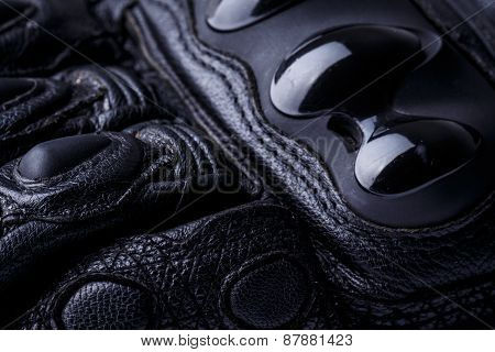 Racing gloves macro