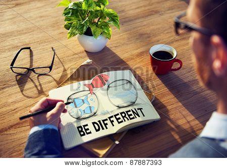 Different Diverse Diversity Independence Individual Individuality Concept
