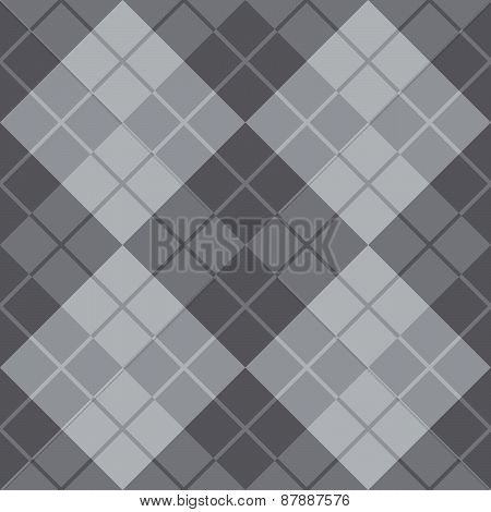 Argyle Design in Grey