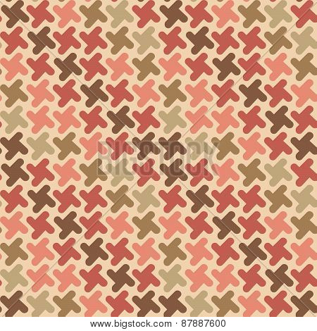 Retro Shapes Pattern