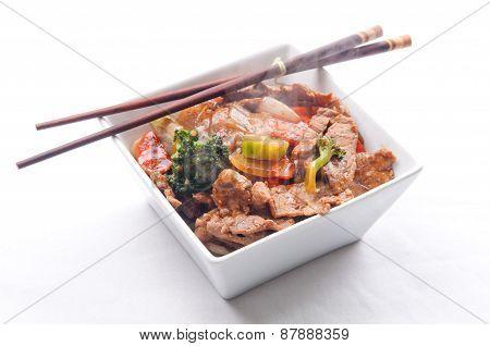 Home Made Beef Stir Fry