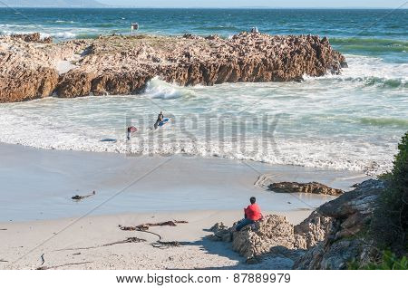 Beach In Hermanus