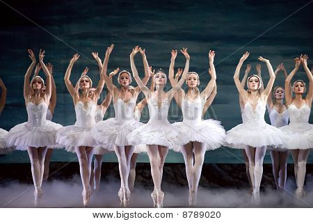 Swan Lake Ballet Performed By Russian Royal Ballet
