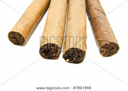 Four Cuban Cigars