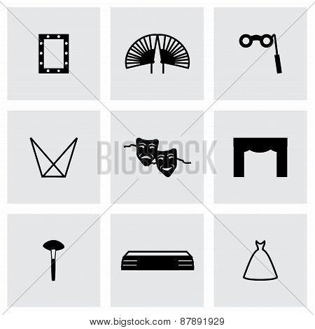 Vector Theatre icon set