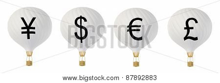 Bw Currency Hot Air Balloons