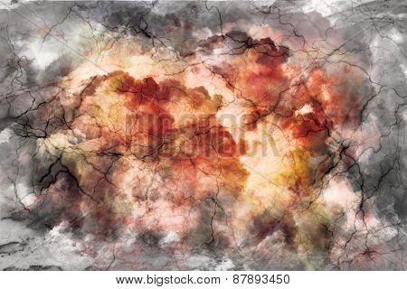 Colored abstract background, stone marble with stripes