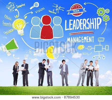 Diversity Business People Leadership Management Discussion Concept