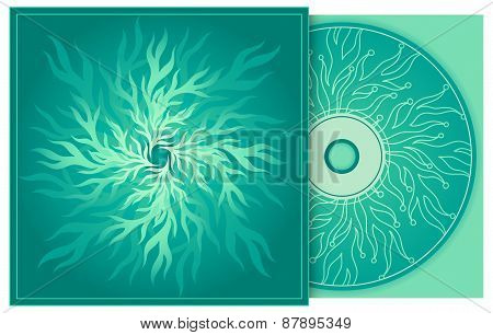 Cd Cover In Turquoise