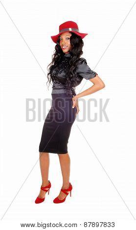 Black Tall Woman.