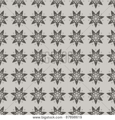 flowers on a gray background