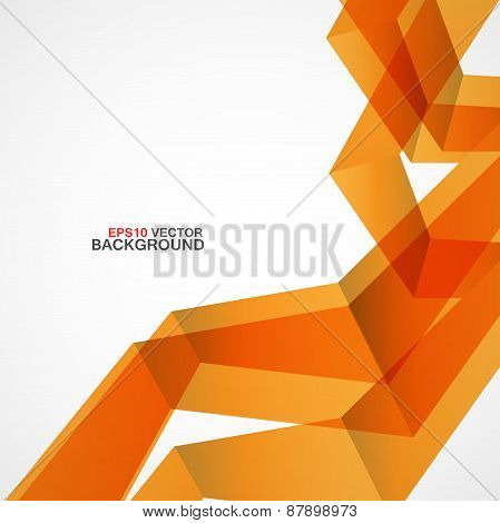 Abstract vector background of chaotic shapes eps