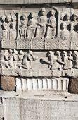 pic of obelisk  - Egypt Reliefs on the Pedestal of the Obelisk  - JPG