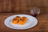stock photo of carrot  - dessert - JPG